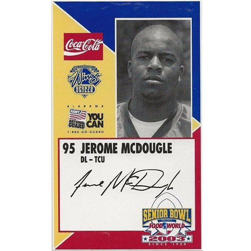 2003 Senior Bowl 59 Jerome McDougle