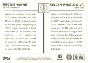 Reggie Wayne/Kellen Winslow