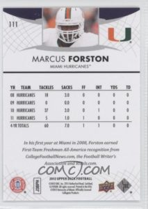 Marcus Forston