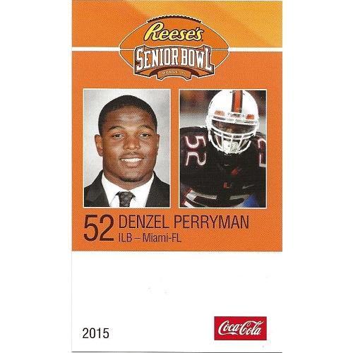 2015 Senior Bowl #84 Denzel Perryman