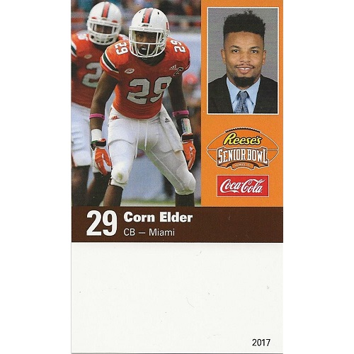 2017 Senior Bowl Corn Elder
