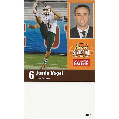 2017 Senior Bowl Justin Vogel