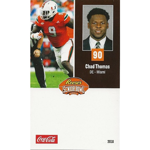 2018 Senior Bowl Chad Thomas