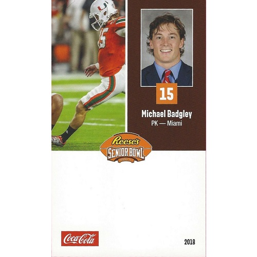 2018 Senior Bowl Mike Badgley